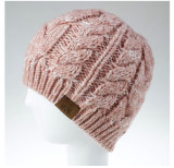 Autumn Winter Woman Beanie Hat Knit Warm Ponytail Messy Stretch Hat Fashion Winter Skullies Beanies Female Gorros Bonnet
