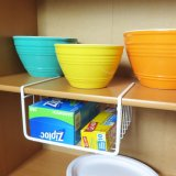 Wire Under Shelf Storage Baskets, 4 Piece Set