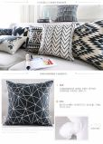 Wave Stripe Sofa Decor Throw Square Pillow Geomatric Cushion