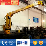 Small Deck Floating Fishing Boat Lifting Crane Arms
