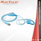 Colored C-Ring Braided Fiber Earpiece for Motorola Clp1010, Clp1040