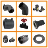 PE 100 Plastic HDPE Pipe Fitting of Butt Welding and Socket Weld and Electro Fusion
