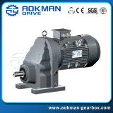 Foot-Mounted Gray Cast Iron R Series Inline Helical Gearbox (R38~R168)