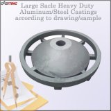 large scale heavy duty sand cast steel aluminum casting for coal mine machinery