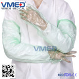Disposable Cheap Gloves Veterinary, High Protection Safety Long Sleeve PE Disposable Gloves, Disposable Long PE / EVA Shoulder Length Veterinary Sleeve Glove