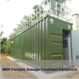 Containerization Portable Mobile RO UF Mbr Sewage Wastewater Drinking Pure Water Filter Firtration Seawater Desalination Effluent System Treatment Equipment