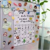 Wholesale Popular Dry Erase Magnet Calendar Magnetic Roll Fridge Whiteboard White Board Magnetic