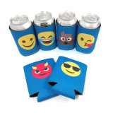 Promotional Personalized Custom Waterproof Full Color Printing Neoprene Can Cooler