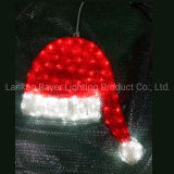Christmas Hat LED Motif Lights 2D Christmas Decoration