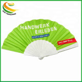 Customized Chinese Bamboo Hand Fan Cheap Decorative Silk Plastic Hand Fans