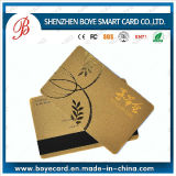 Popular and Beautiful Magnetic Card Magnetic Stripe Card with Chip