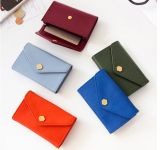 White-Collar Worker Sweet Leather Card Holder