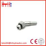 45degree Metric Female Flat Seat Hydraulic Hose Fitting (20241, 20241-T)