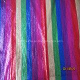 Six Colour Yarn Dyed Organza Fabric for Garment
