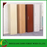 Single Door Melamine Wardrobe Design Furniture Bedroom