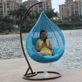 New Outdoor Swing, Rattan Furniture, Rattan Basket Rattan Hanging Swing Chair D020
