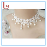 Fashion Accessories Gothic Choker Bridal Pearl White Lace Necklaces
