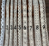 More Style for Choice Narrow Width Crochet Lace for Decoration