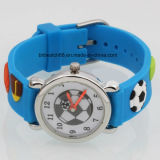 Promotion Silicone Analog Quartz Kids Cartoon Watch for Gift