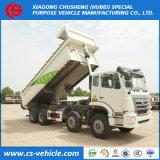Heavy Duty 12 Wheels Dumper Tipper Truck 50 Tons Dump Truck Price