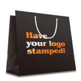 Promotional Retail Paper Bag, Suitable for Advertisement