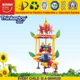 Wholesale Educational Kids ABS Colorful 3D Jigsaw Puzzle Toy