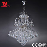 Modern Designed Crystal Chandelier with Glass Dressing