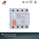 Residual Current Circuit Breaker Electromagnetic Type 4p Rdx16L-63