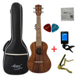 Aiersi High Qaulity Solid Koa Top Ukulele Tenor Musical Instrument