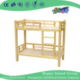 Children Rustic Wooden School Bunk Bed with Stair (HG-6506)