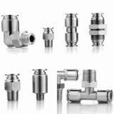 CNC Turning Stainless Steel Fittings Pneumatic Fittings