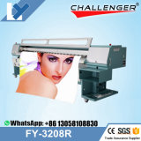Wholesale Price 3.2m Infiniti/Challenger Outdoor Flex Large Format Solvent Printer Fy-3208r with Seiko 510/35pl Printhead