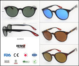2019 New Fashion Classic Oval Plastic Sunglasses with UV400 Preotection, Item No. Kp90139