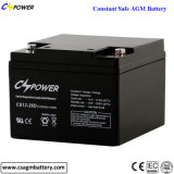 China Lead Acid Battery 12V26ah, for UPS/Alarm/Lighting