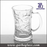 7oz Glass Mug with Embossed Design (GB092007CM)