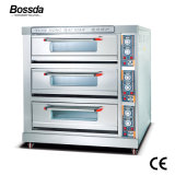 Wholesale Baking Machine Equipment Deck Pizza Oven for Bakery with 3decks 9trays