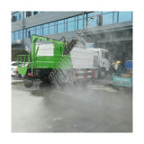 Sinotruk HOWO Euro 6 High Pressure Automatic Washing System Solar Panels Sweeper Cleaning Truck