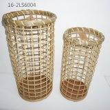 Different Shapes of Bamboo and Rattan Baskets