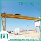 High Operational Value Bmh Model Double Girder Semi-Gantry Crane