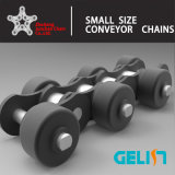 C2040 C2042 Outboard Roller Conveyor Chain (Free Flow Conveyance)