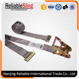 "2"" 4400lbs Retractable Ratchet Buckle Strap for Truck Trailer"