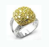 2017 New Design OEM Silver Gemstone Ring