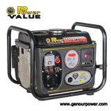 650W Portable Gasoline Generator, Single Phase AC Generator 220V with High Quality