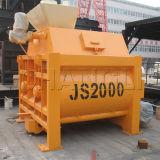Js2000 Twin Shafts Concrete Mixer