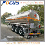 Factory Supply 30-60 Kl Aluminum Steel Water Tank Trailer for Sale