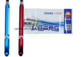 Cap-off Design Advertising Pull out Banner Pen with Stylus for Promotion