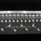 Fashion Garment Accessory Net Yarn Embroidery Lace Fabric Decoration Textile