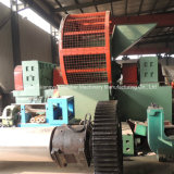 CE Approved Quality Guarantee Full Automatic Whole Tyre Shredder