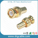 BNC to RCA Adapter Connector for Coaxial Cable Rg59 RG6