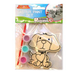 Cute Dog Wood& Paint Kit Education DIY Toys